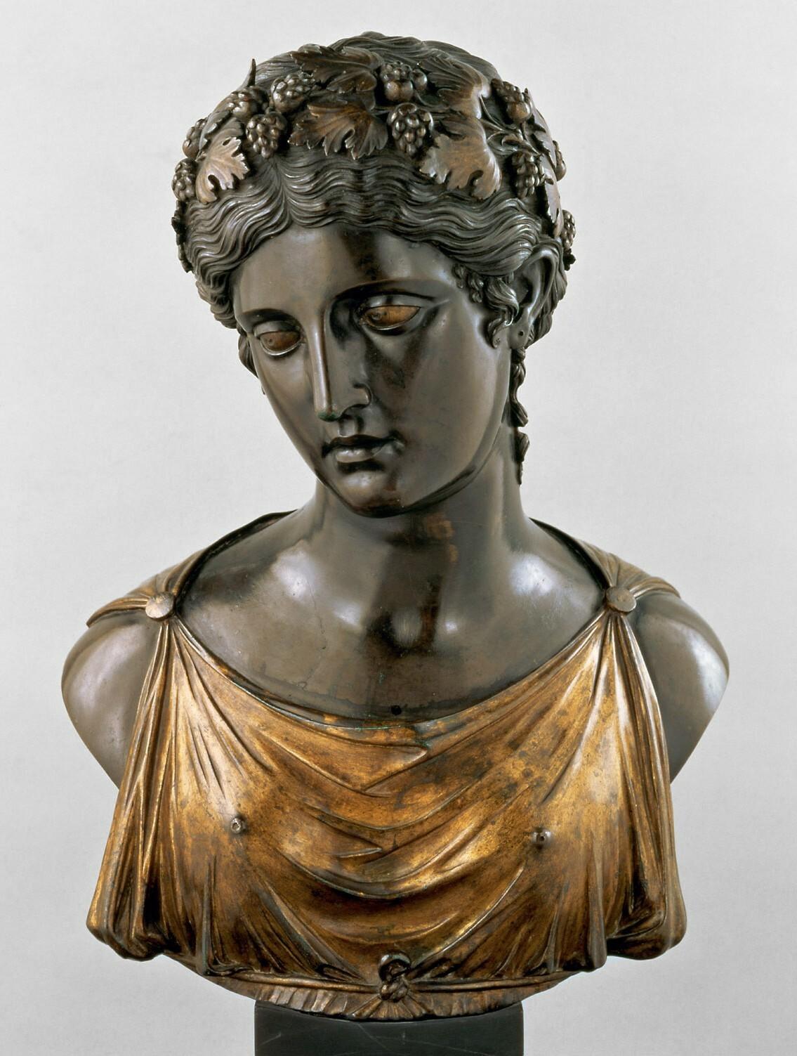 Ariadne; Büste von Pier Jacopo Alari de Bonacolsi, gen. Antico