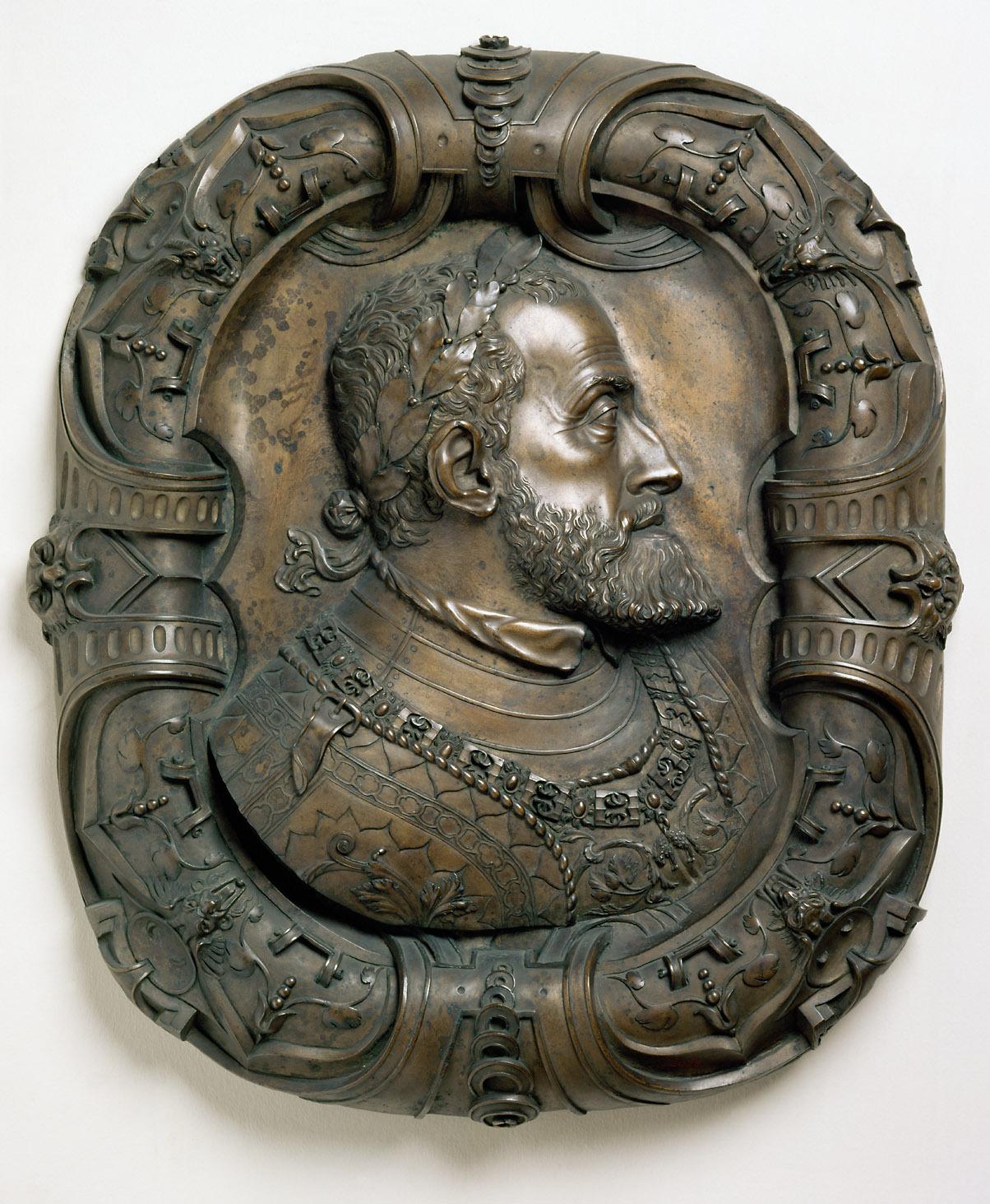 Bildnis Kaiser Karls V. von Leone Leoni