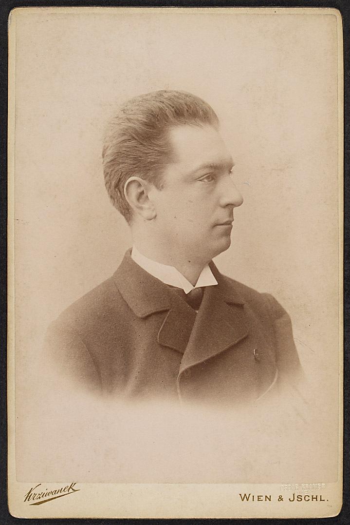 Rudolf Sommer von Rudolf Krziwanek, Wien - Ischl