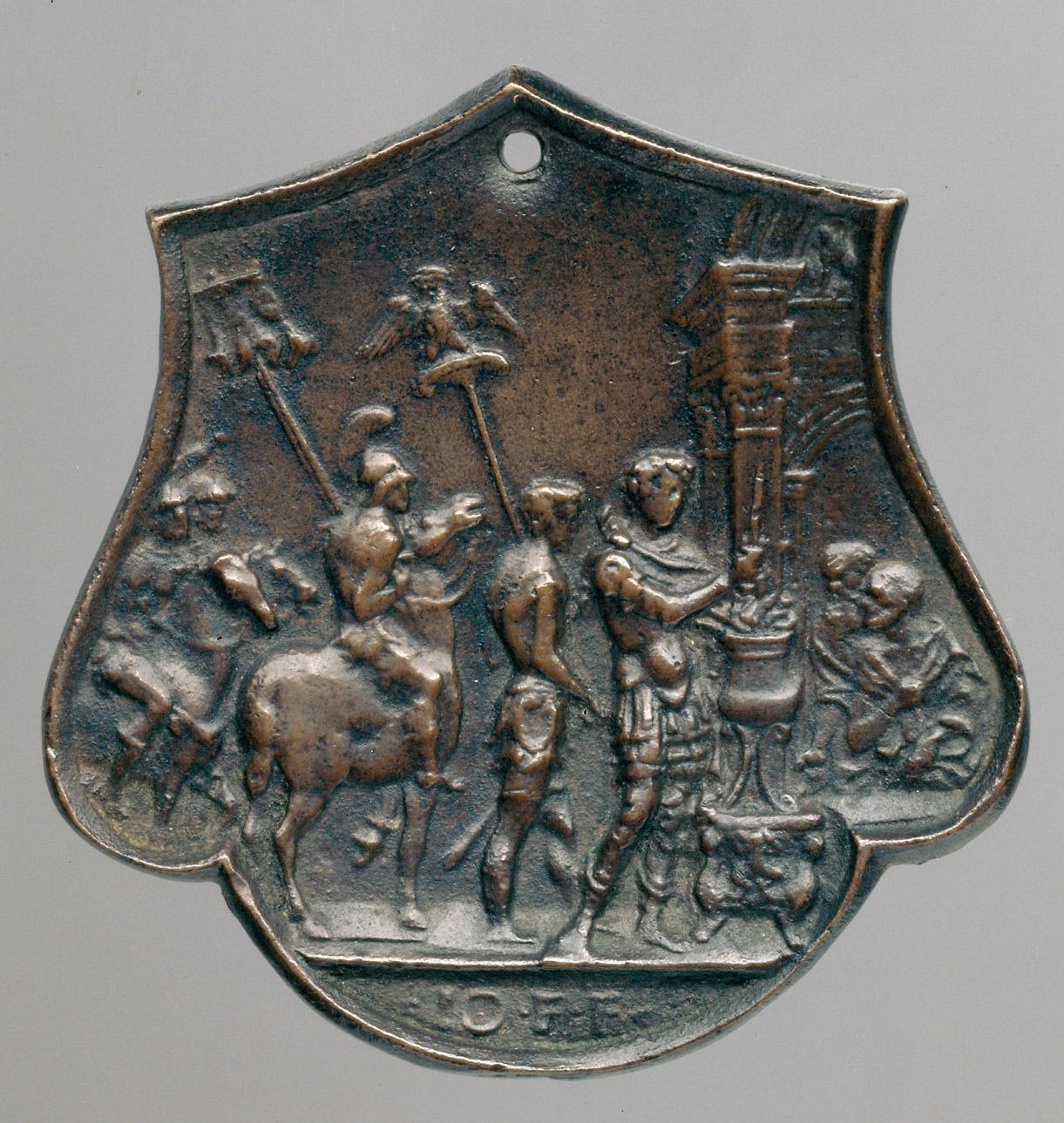 Mucius Scaevola von Meister IO. F.F.