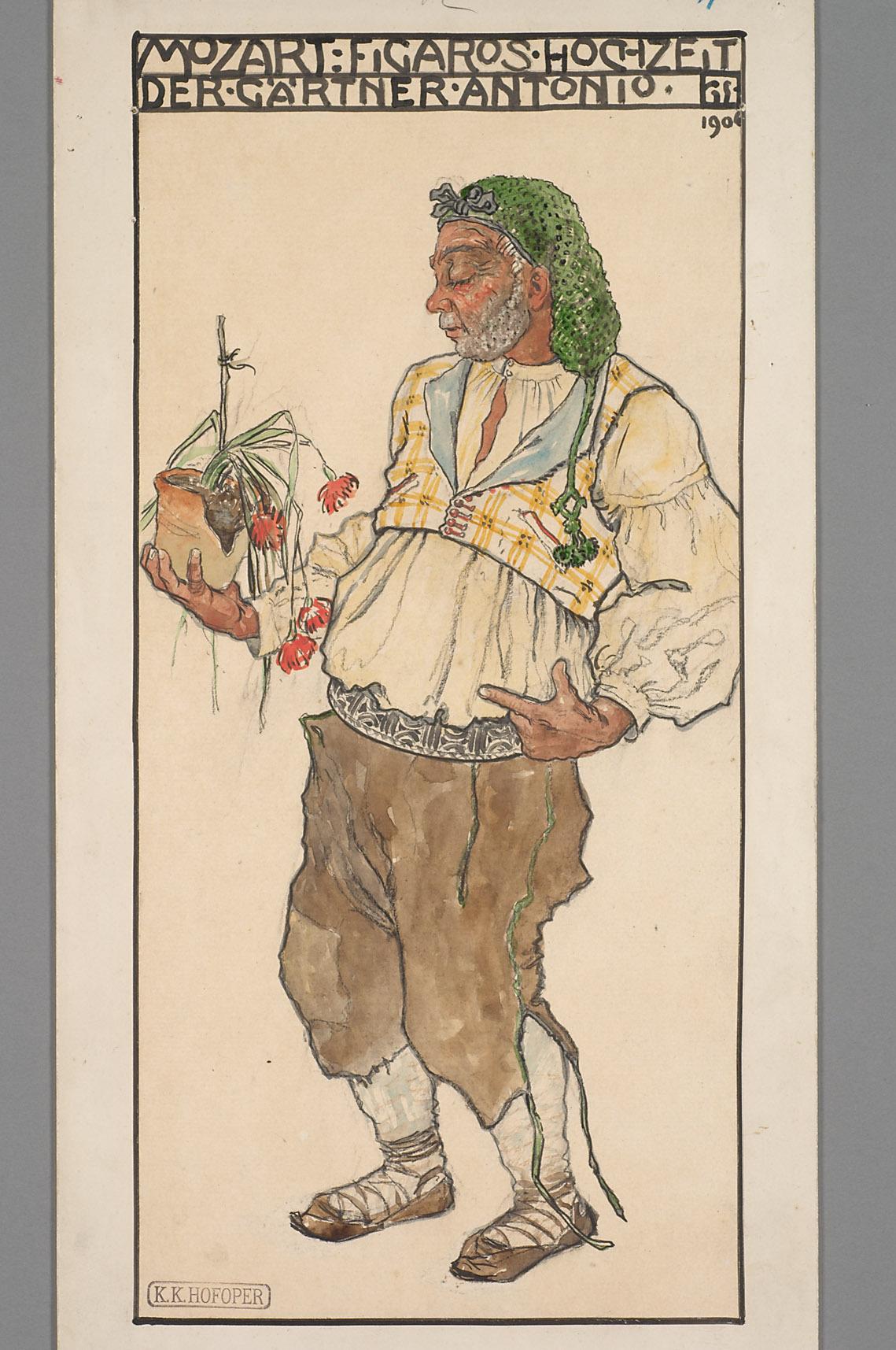 Die Hochzeit des Figaro von Alfred Roller