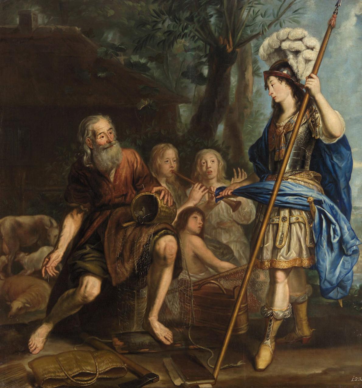 Erminia bei den Landleuten von Jan de Herdt