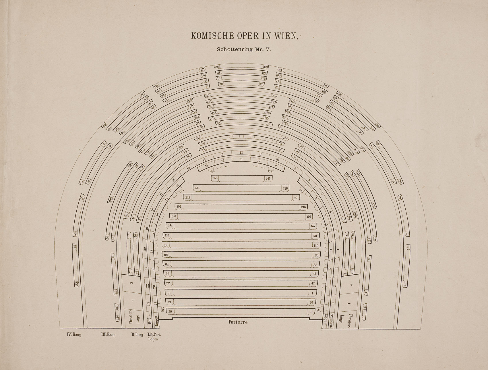 Wien, Komische Oper von anonym