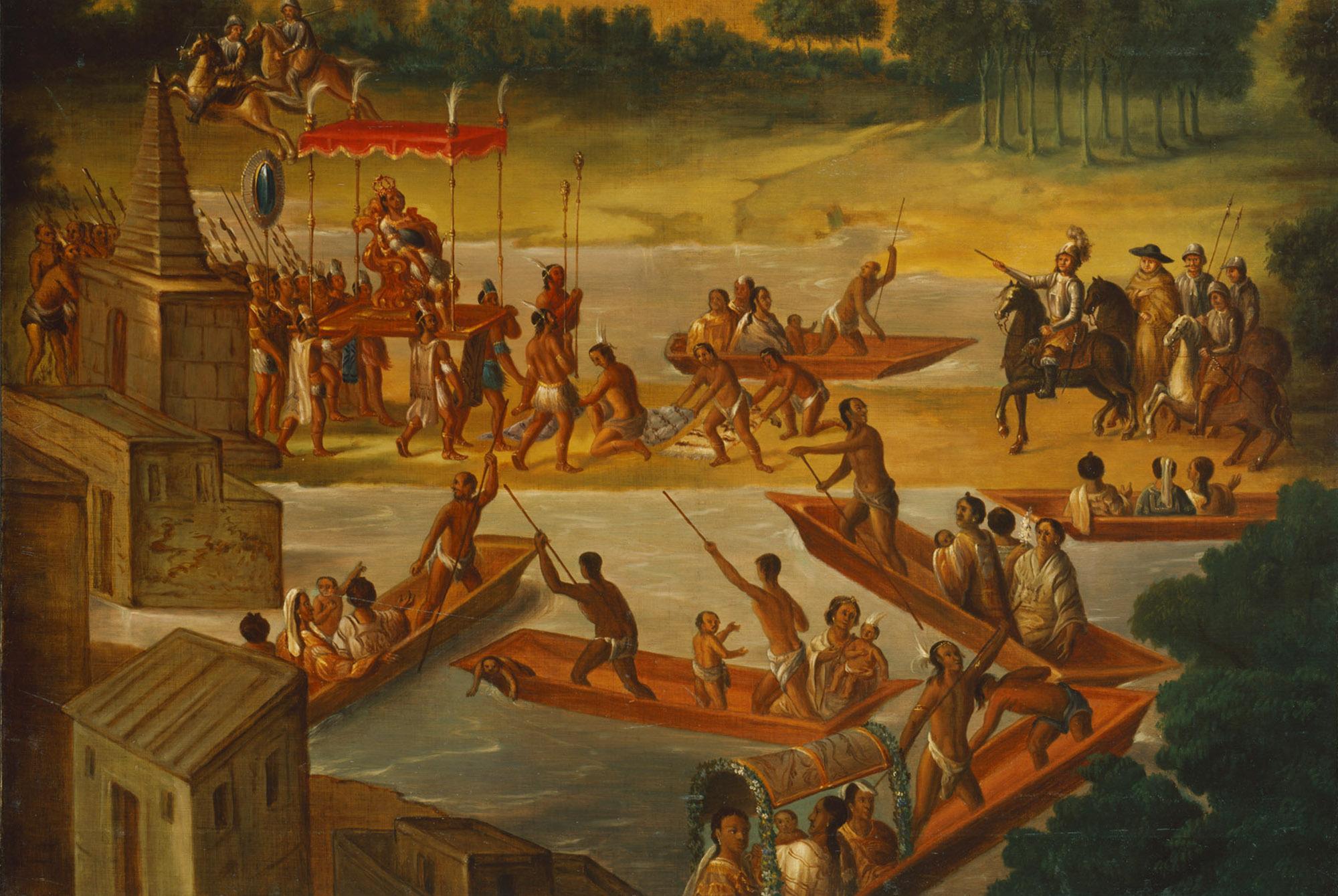 Die Eroberung Mexico´s durch Ferdinand Cortez von Eduard Ritter von Orel