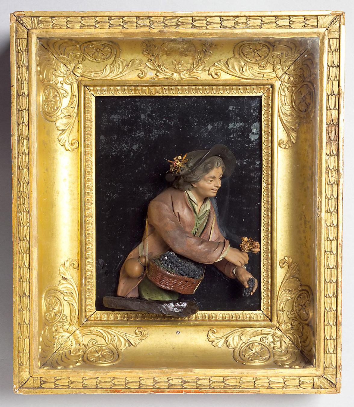 Der gefällige Gärtner (Allegorie des Herbstes) von Caspar Bernhard Hardy