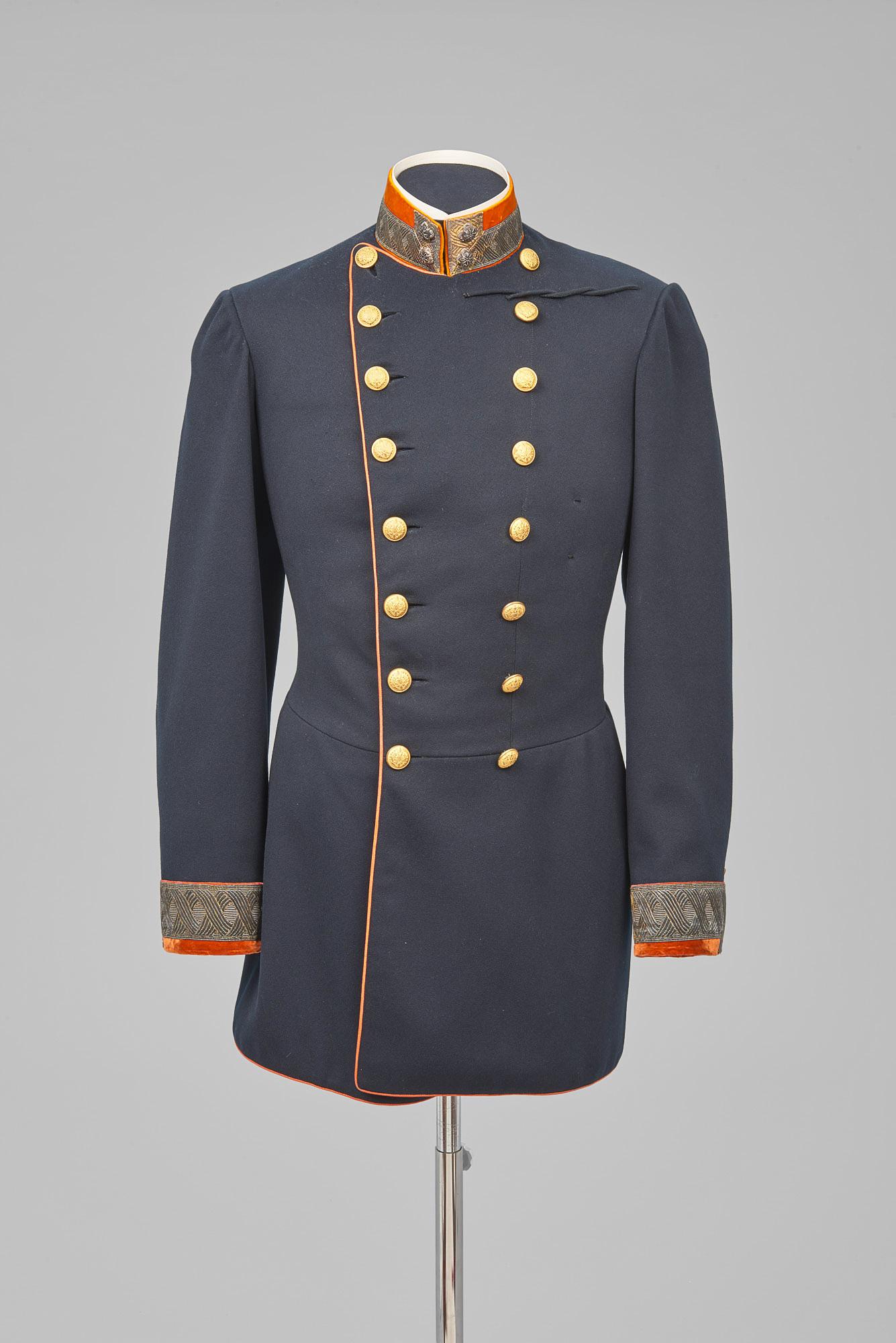 Rock von der Gala-Uniform eines Sektionschefs im Handelsministerium