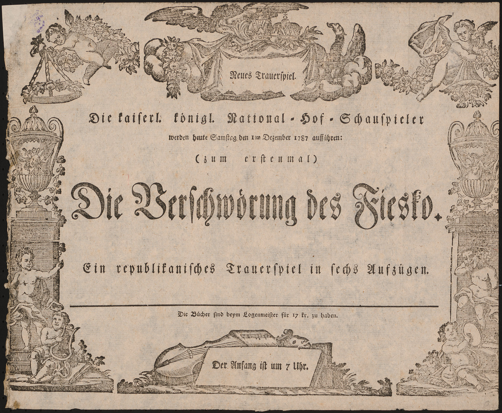 Die Verschwörung des Fiesko von Friedrich von Schiller