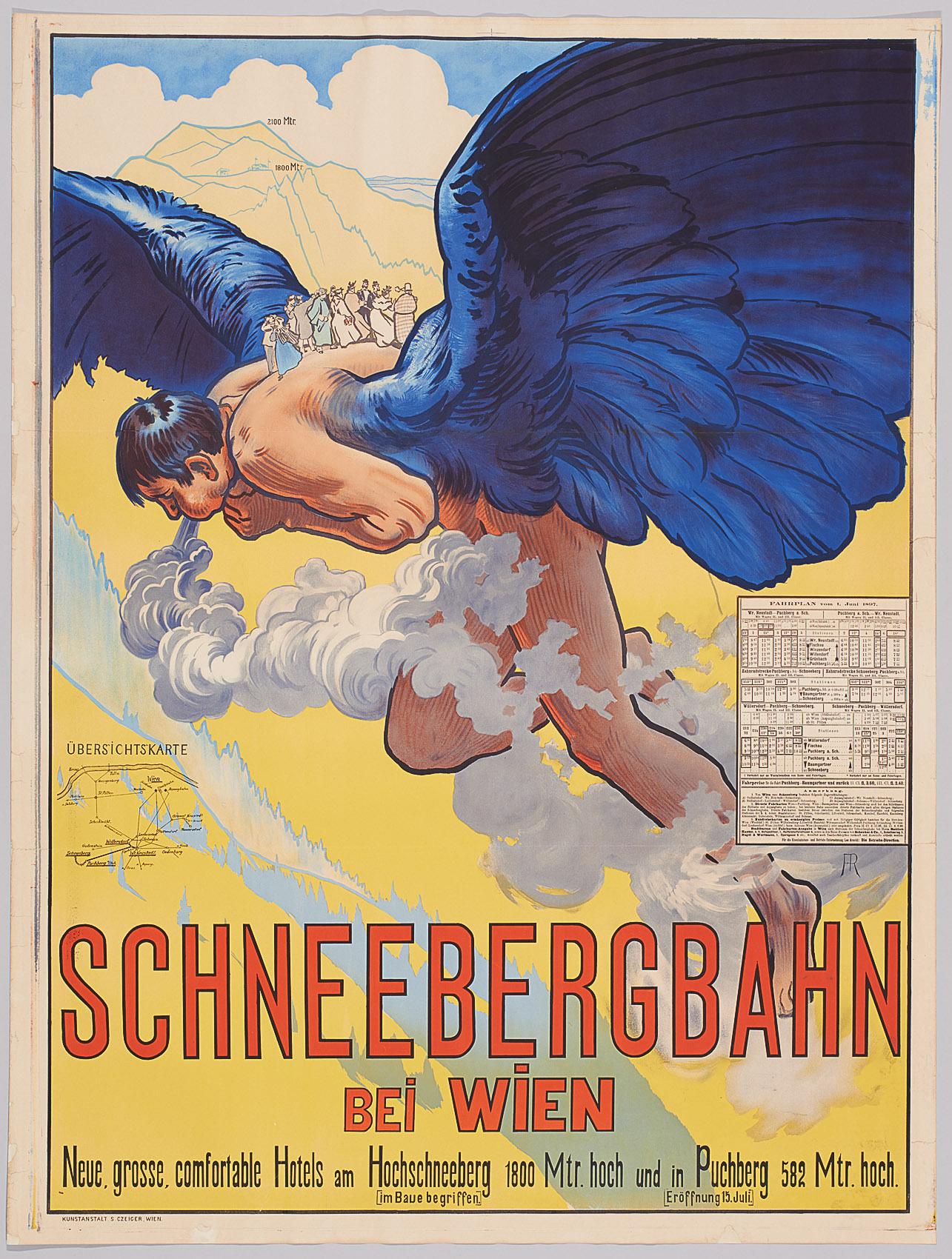 Schneebergbahn bei Wien von Alfred Roller