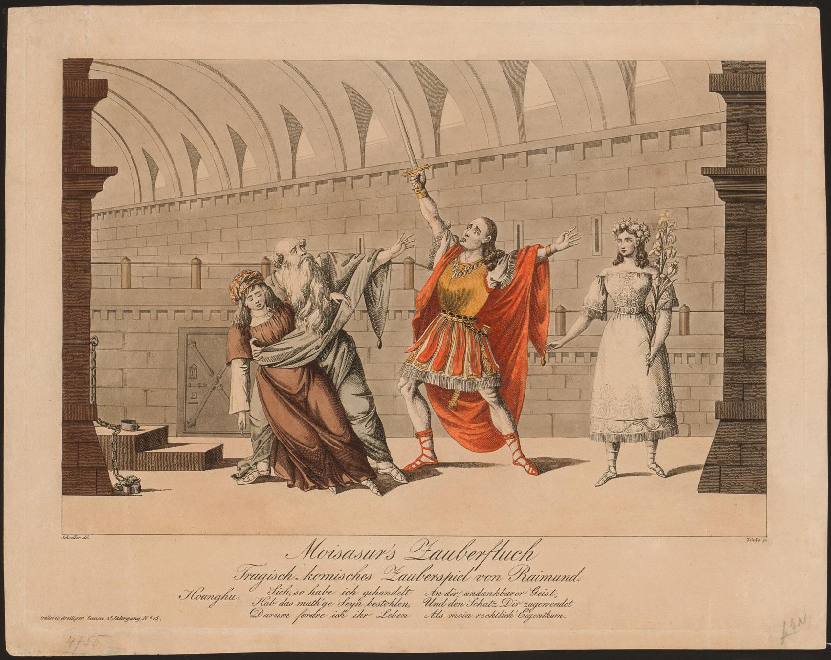 Moisasur's Zauberfluch von Johann Christian Schoeller