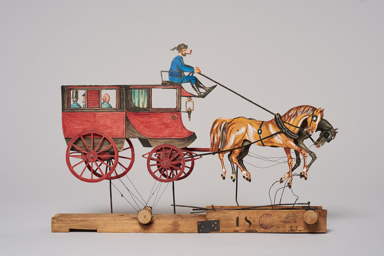 Stadtomnibus mit Pferden von (nicht vergeben)
