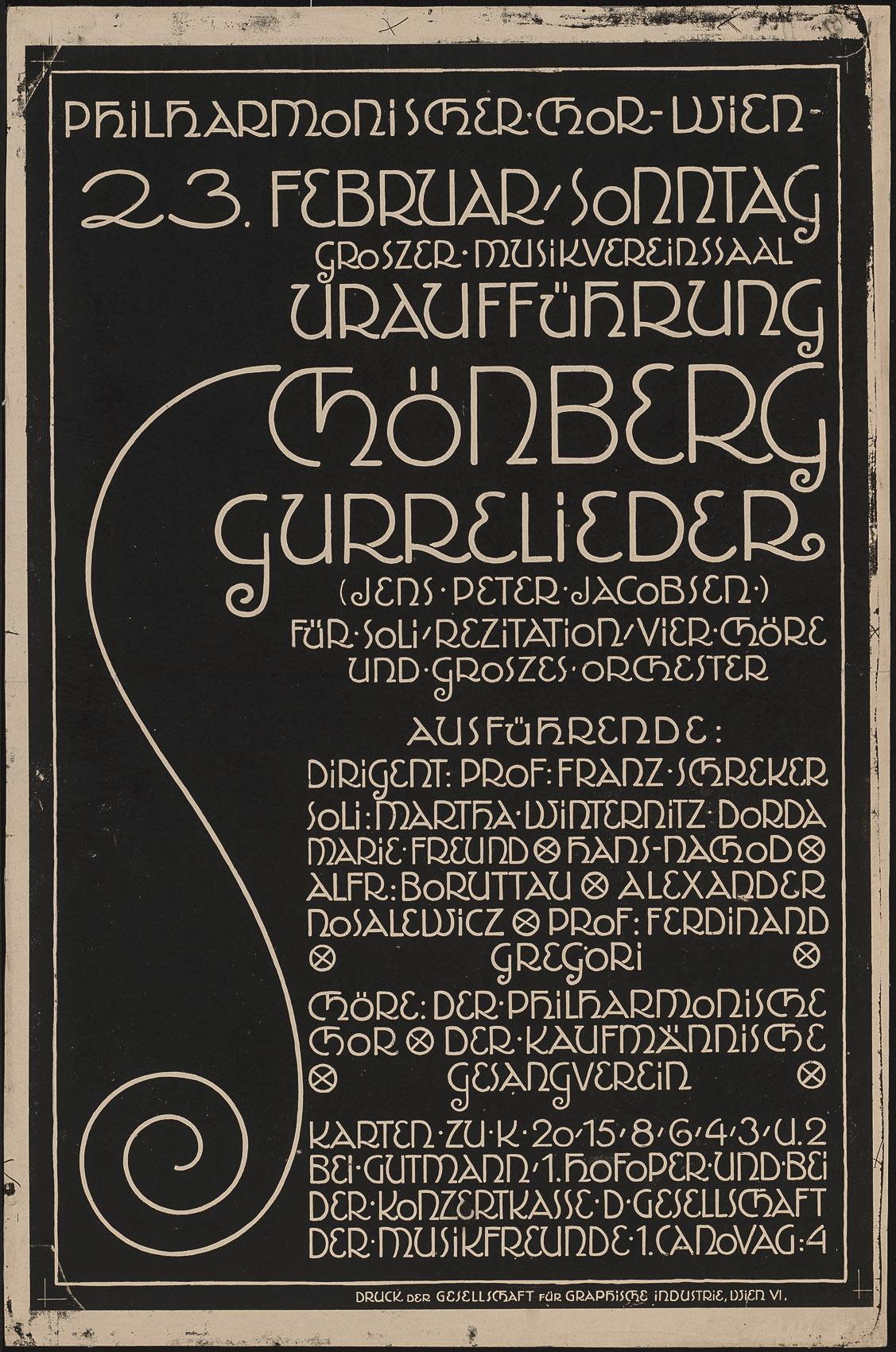 Gurrelieder von Alfred Roller