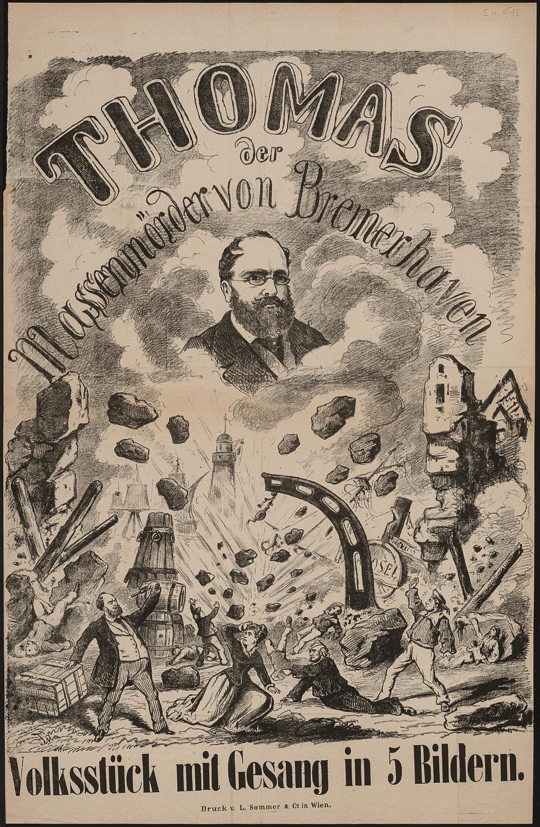 Thomas der Massenmörder von Bremerhaven von Anton Bittner