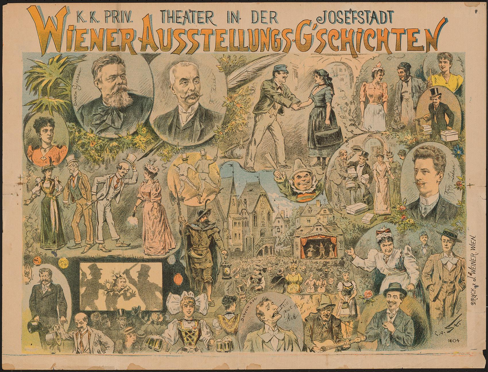 Wiener Ausstellungsg'schichten von Fritz Lehner