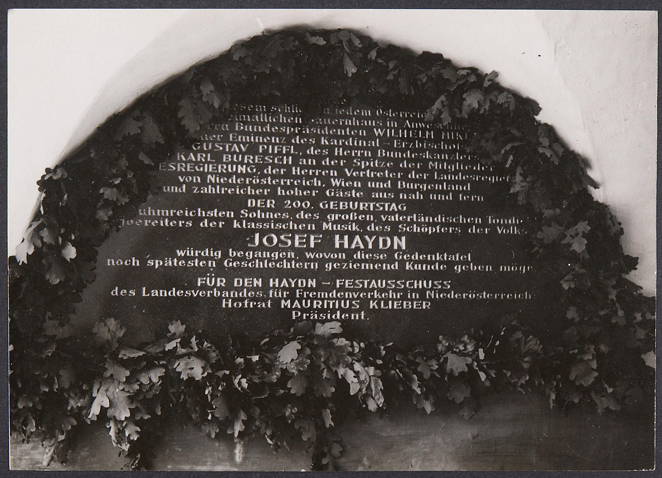 Joseph Haydn von Atelier Willinger, Wien
