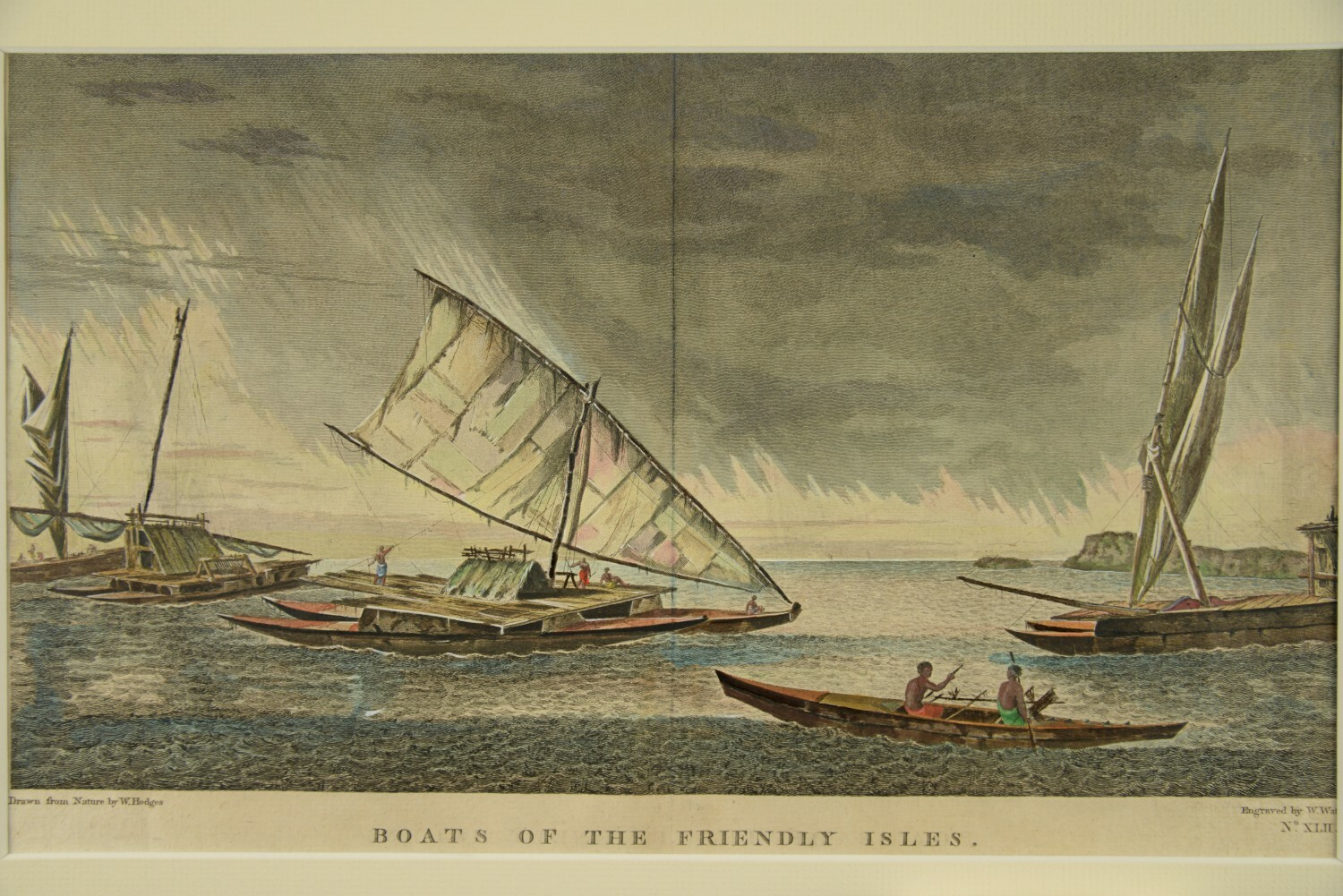Boats of the Friendly Isles von John Webber