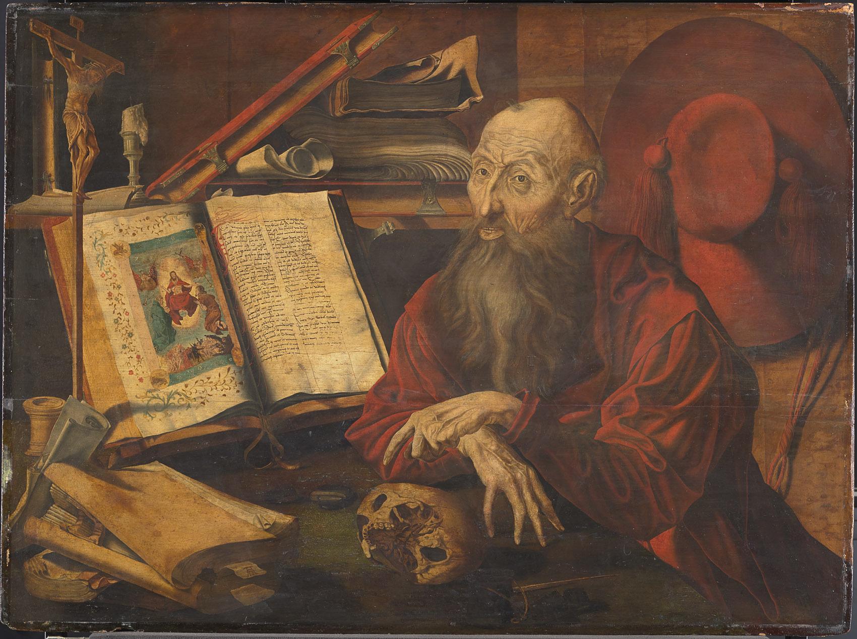 Reymerswaele, Marinus Claesz. van: Der Hl. Hieronymus