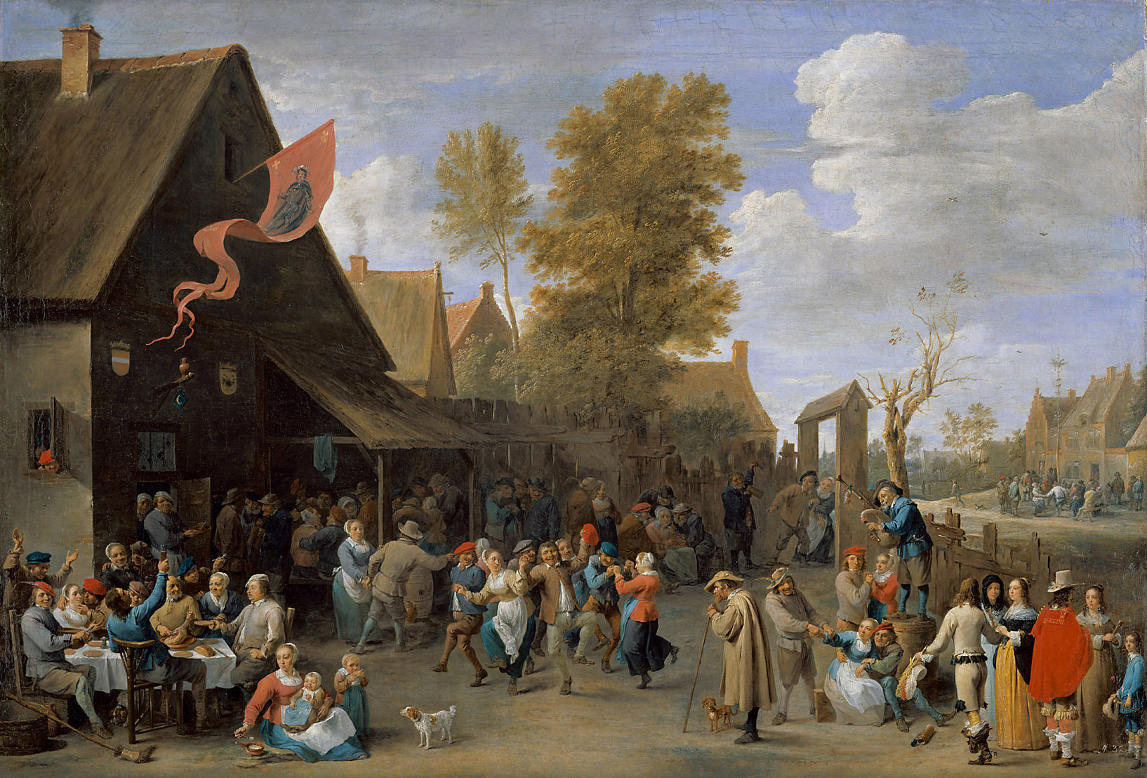 Картинки по запросу давид тенирс младший крестьянский базар