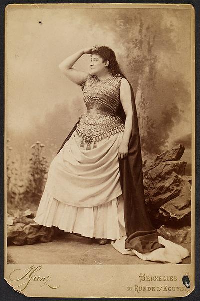 Theatermuseum: Rollenporträt: Amalie Materna